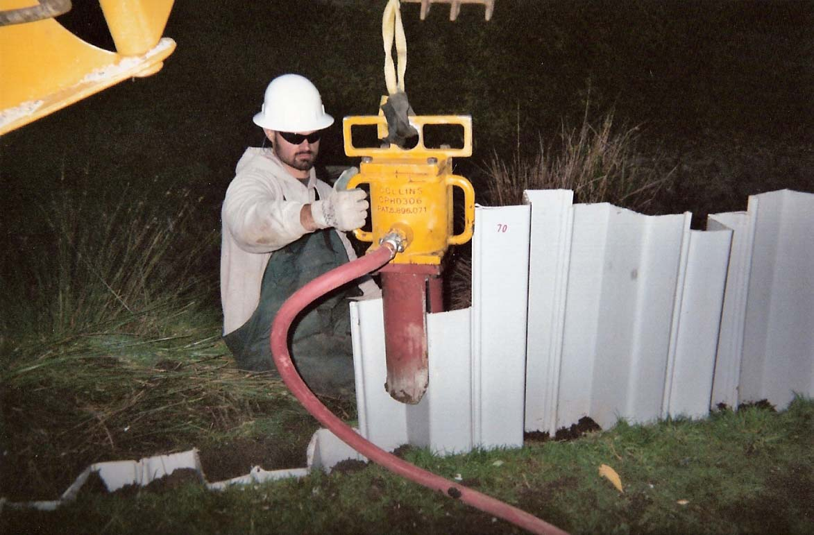 300 Lb On Vinyl Sheet Piling Images Frompo